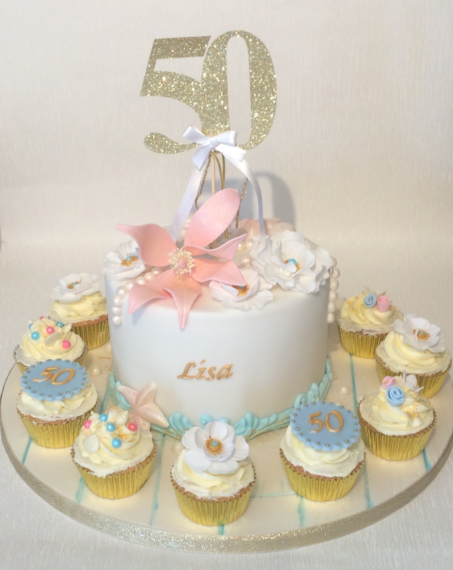 Elegant Birthday Cakes For Ladies