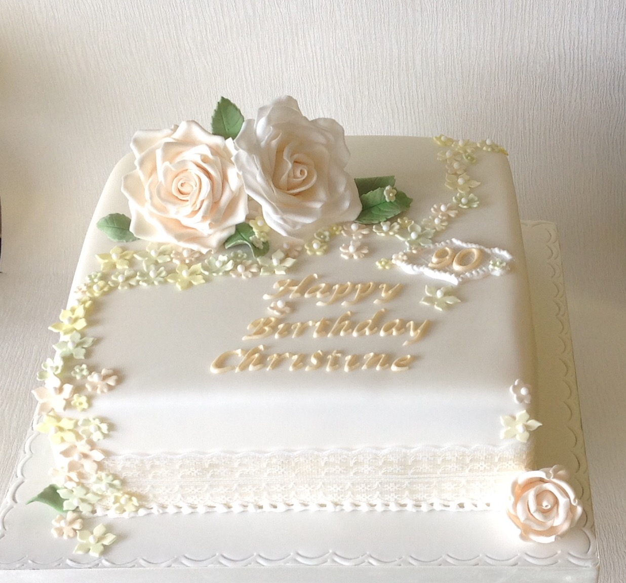 Elegant Birthday Cake Pics Naturallycurlye Com