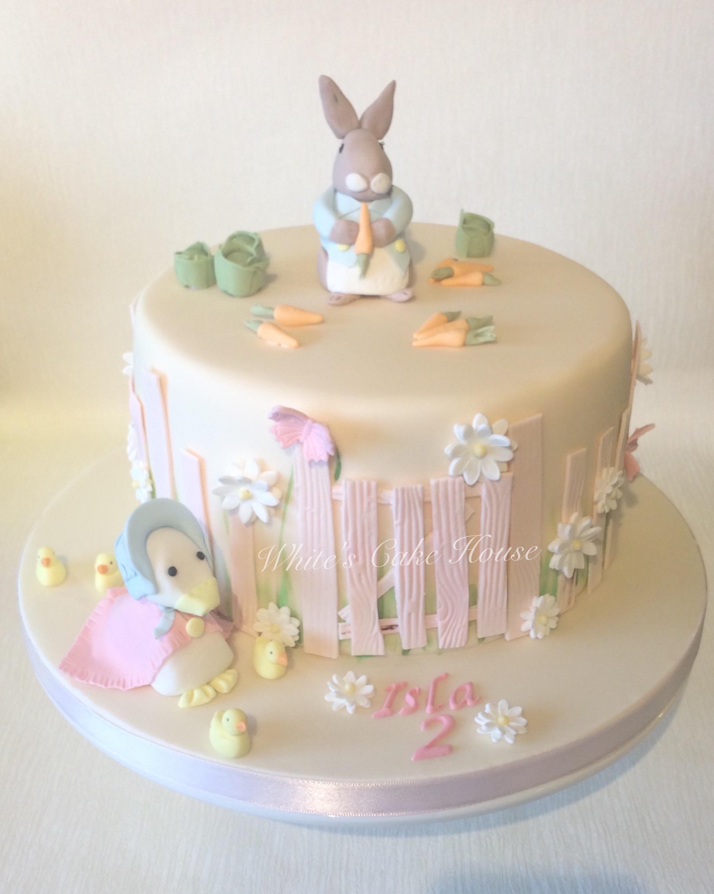Baby Shower Cake Bunny