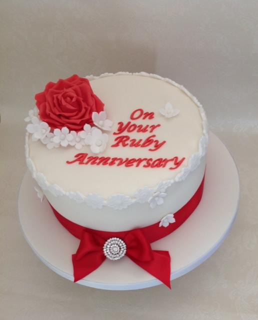 Anniversary White S Cake House